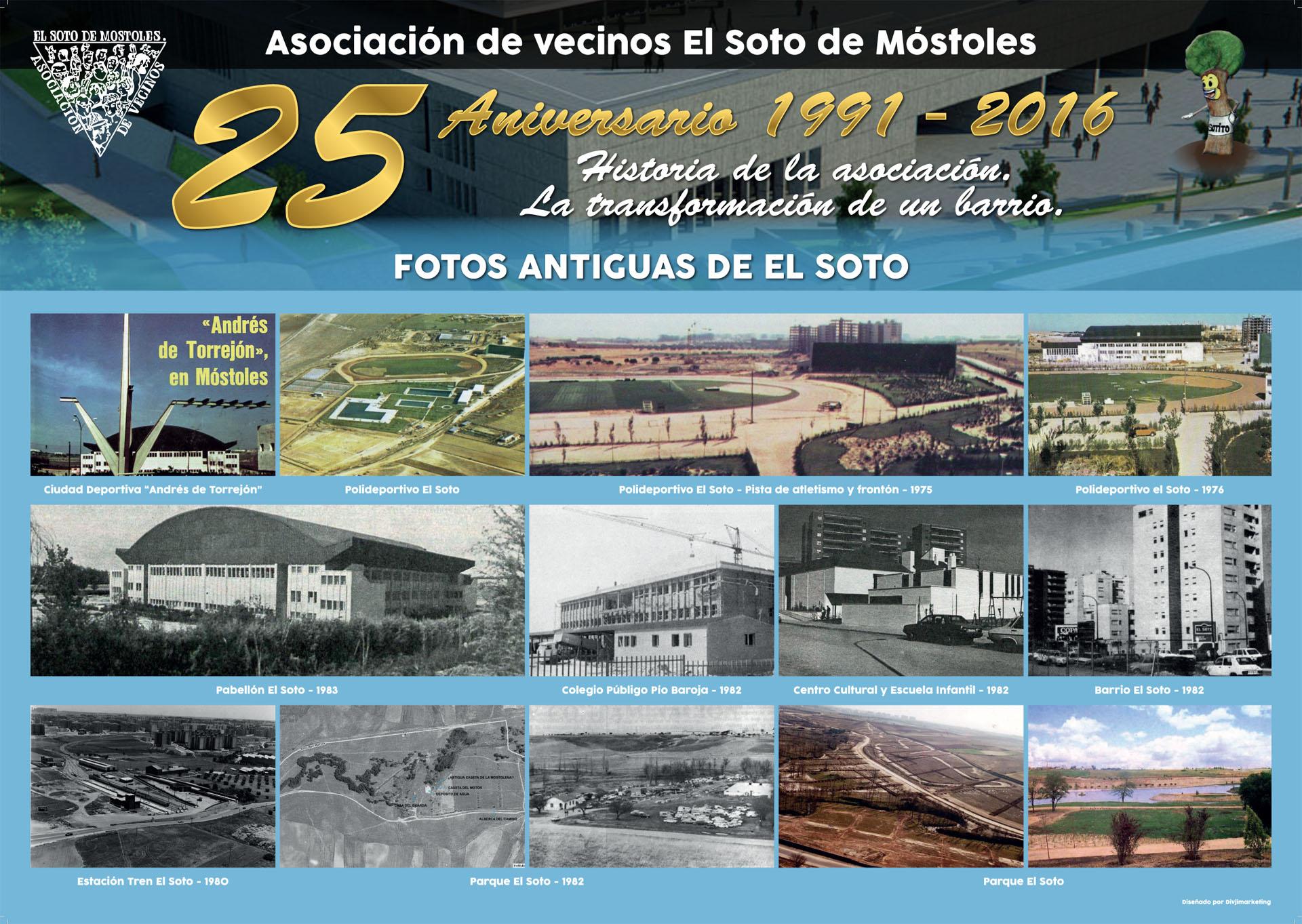 25 aniversario avv paneles avv el soto for Pisos en mostoles el soto