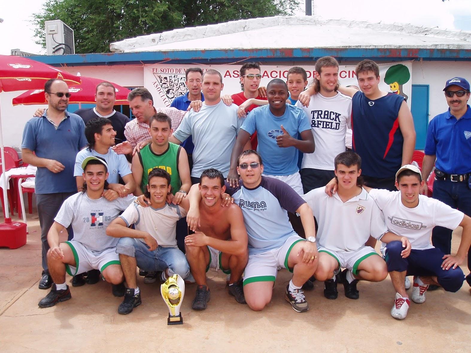 Fiestas 2006 Futbol