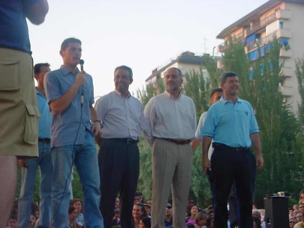 Fiestas 2003 Pregon Iker Casillas